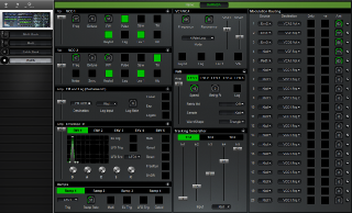 Click to display the Oberheim Xpander Patch Editor