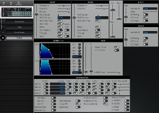 Click to display the Octave Plateau Voyetra 8 Patch Editor