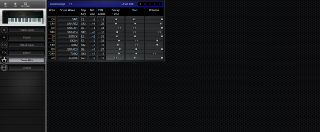 Click to display the Peavey DPM3 Drum Kits Editor