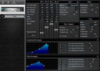 Click to display the Peavey Spectrum Bass Patch Editor