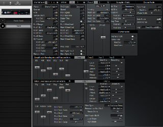 Click to display the Peavey Spectrum Synth Patch Editor