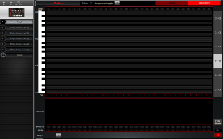 Click to display the Pioneer Toraiz AS-1 Patch - Sequencer Editor