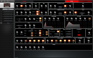 Click to display the Pioneer Toraiz AS-1 Patch - Sound Editor