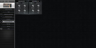 Click to display the Roland BOSS GT-6 Overdrive/Distortion Editor