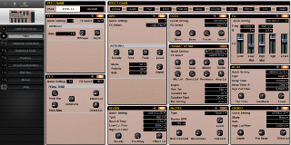 Click to display the Roland BOSS GT-6 Patch Editor