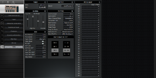 Click to display the Roland BOSS GT-6 Utility Editor