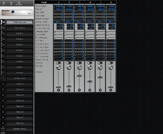 Click to display the Roland CM-32L Performance Editor