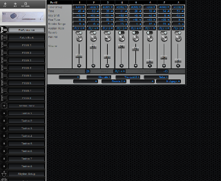 Click to display the Roland CM-64 Performance Editor