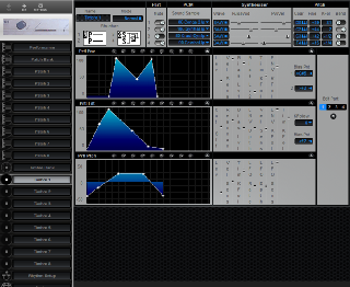Click to display the Roland CM-64 Timbre 1 Editor