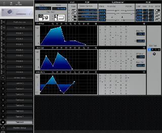 Click to display the Roland CM-64 Timbre 8 Editor