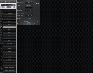 Click to display the Roland D-10 Timbre 3 Editor