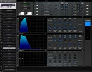 Click to display the Roland D-10 Tone 2 Editor