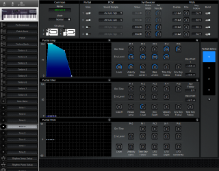 Click to display the Roland D-10 Tone 4 Editor