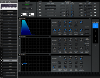 Click to display the Roland D-10 Tone 5 Editor