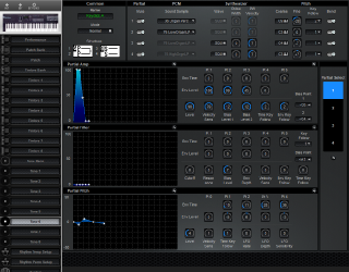 Click to display the Roland D-10 Tone 6 Editor
