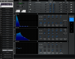 Click to display the Roland D-10 Tone 7 Editor