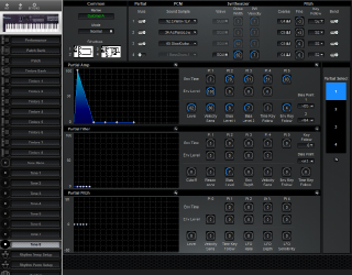 Click to display the Roland D-10 Tone 8 Editor