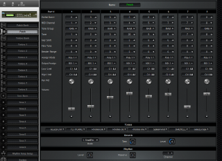 Click to display the Roland D-110 Patch Editor