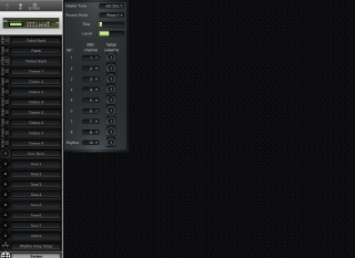 Click to display the Roland D-110 System Editor