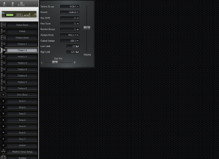 Click to display the Roland D-110 Timbre 2 Editor