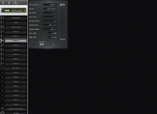 Click to display the Roland D-110 Timbre 3 Editor
