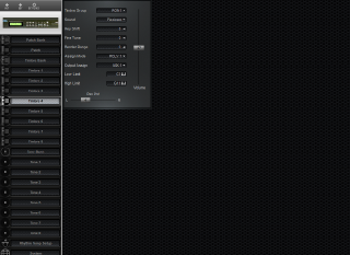 Click to display the Roland D-110 Timbre 4 Editor