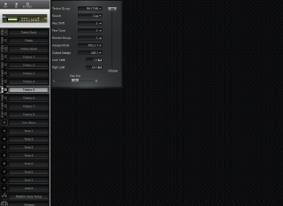 Click to display the Roland D-110 Timbre 5 Editor