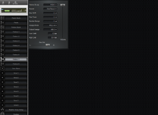 Click to display the Roland D-110 Timbre 7 Editor
