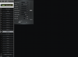 Click to display the Roland D-110 Timbre 8 Editor