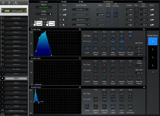 Click to display the Roland D-110 Tone 2 Editor