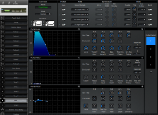 Click to display the Roland D-110 Tone 7 Editor