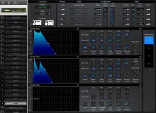 Click to display the Roland D-110 Tone 8 Editor
