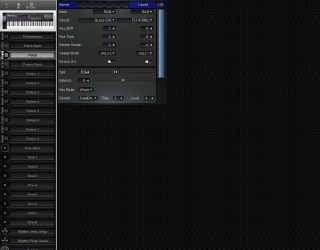 Click to display the Roland D-20 Patch Editor
