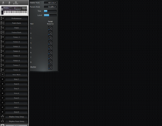 Click to display the Roland D-20 System Editor
