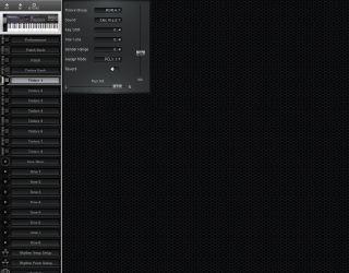 Click to display the Roland D-20 Timbre 1 Editor
