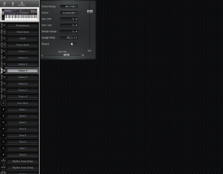 Click to display the Roland D-20 Timbre 4 Editor