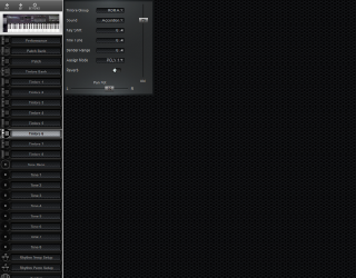 Click to display the Roland D-20 Timbre 6 Editor