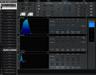 Click to display the Roland D-20 Tone 2 Editor