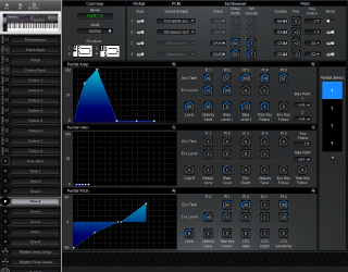 Click to display the Roland D-20 Tone 4 Editor