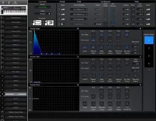 Click to display the Roland D-20 Tone 5 Editor