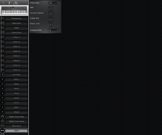 Click to display the Roland D-5 Effect Editor