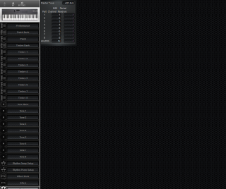 Click to display the Roland D-5 System Editor