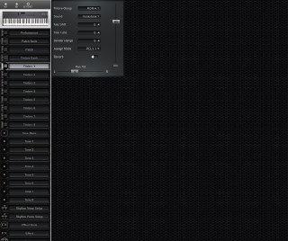 Click to display the Roland D-5 Timbre 1 Editor