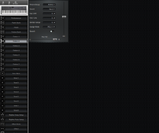 Click to display the Roland D-5 Timbre 2 Editor