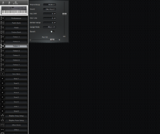 Click to display the Roland D-5 Timbre 3 Editor