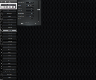 Click to display the Roland D-5 Timbre 4 Editor