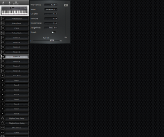 Click to display the Roland D-5 Timbre 5 Editor
