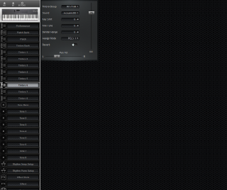 Click to display the Roland D-5 Timbre 6 Editor
