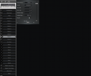 Click to display the Roland D-5 Timbre 7 Editor