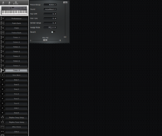 Click to display the Roland D-5 Timbre 8 Editor